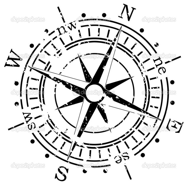 old compass vector - Google Search