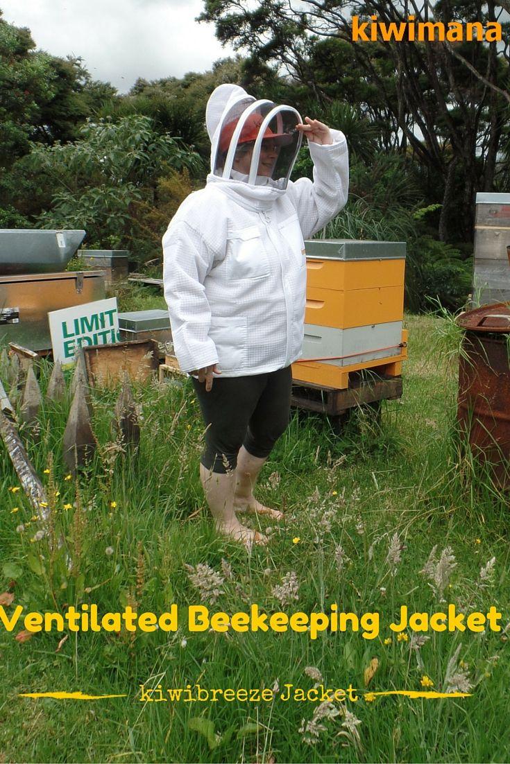 Ventilated Beekeeping Jacket – kiwibreeze Jacket