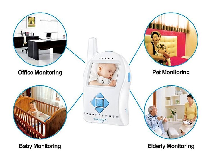 Save 47% on #amazon #shopping #Timeflys #Digital #Video #AudioBaby Monitor with Remote-controlled Camera Rotation, Tilt, Zoom, 2-way Talking, Night Vision, Temperature Sensor and Changeable Lullaby (Mini Sd Card Included) (Blue) at http://amzn.to/2djjifA