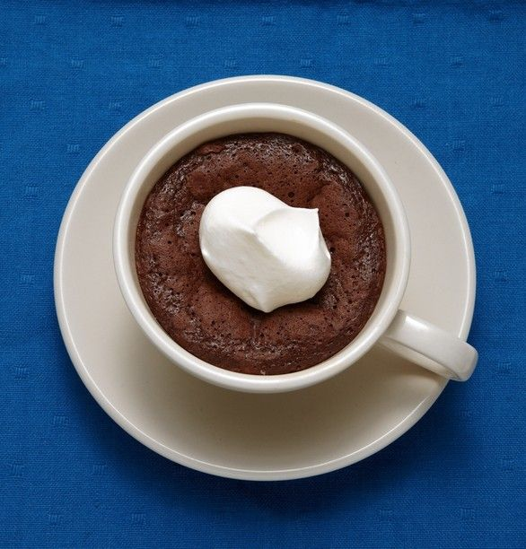 Baked Hot Chocolate- Crisp on top. Pudding in the center. Total Time: