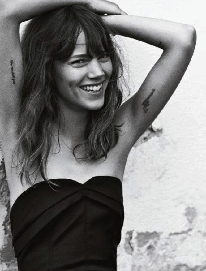 Freja Beha Erichsen photographed by Cass Bird for Vogue UK, January 2014.