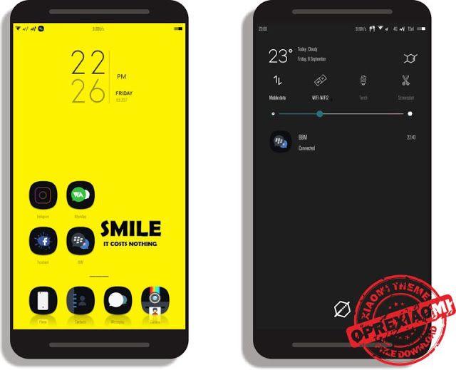 Tema Xiaomi Brut Error V 2 Mtz Full Mod Paling Keren Dan