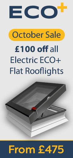 VELUX ECX S06 0000TF Insulated Flat Roof Kerb 114x118cm | Sterlingbuild
