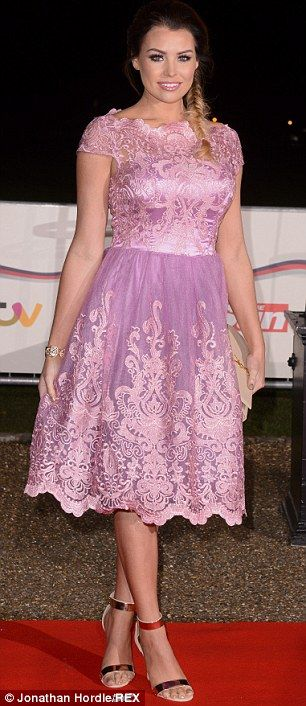 What jet lag? I'm A Celebrity contestant Nadia Forde made it to the awards despite just je...