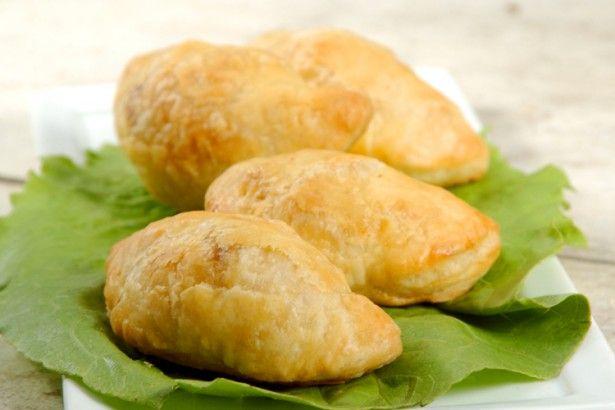 Samosas (Indian hot-pockets ;-) from KAF
