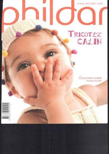 Catalogue Phildar N°484 Tricotez calin Printemps Ete 2008 - paty net - Picasa Webalbumok