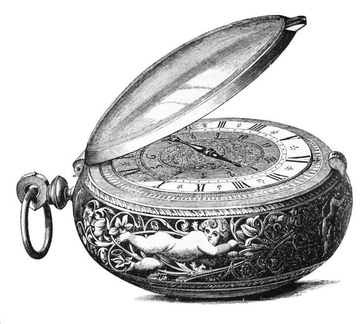 """Nürnberger Eieruhr:  Auch wenn die Idee naheliegend scheint - dieses eiförmige Chronometer aus dem 17. Jahrhundert diente keineswegs dazu, die Kochdauer von Eiern zu messen. Die als """"Nürnberger Eier"""" bekannten Prunktaschenuhren wurden von wohlhabenden Bürgern als Zeitmesser und Statussymbol getragen. Ob jedoch tatsächlich ein Nürnberger, nämlich der Feinmechaniker Peter Henlein, Urheber dieser frühen Taschenuhren ist, ist bis heute nicht zweifelsfrei geklärt."""