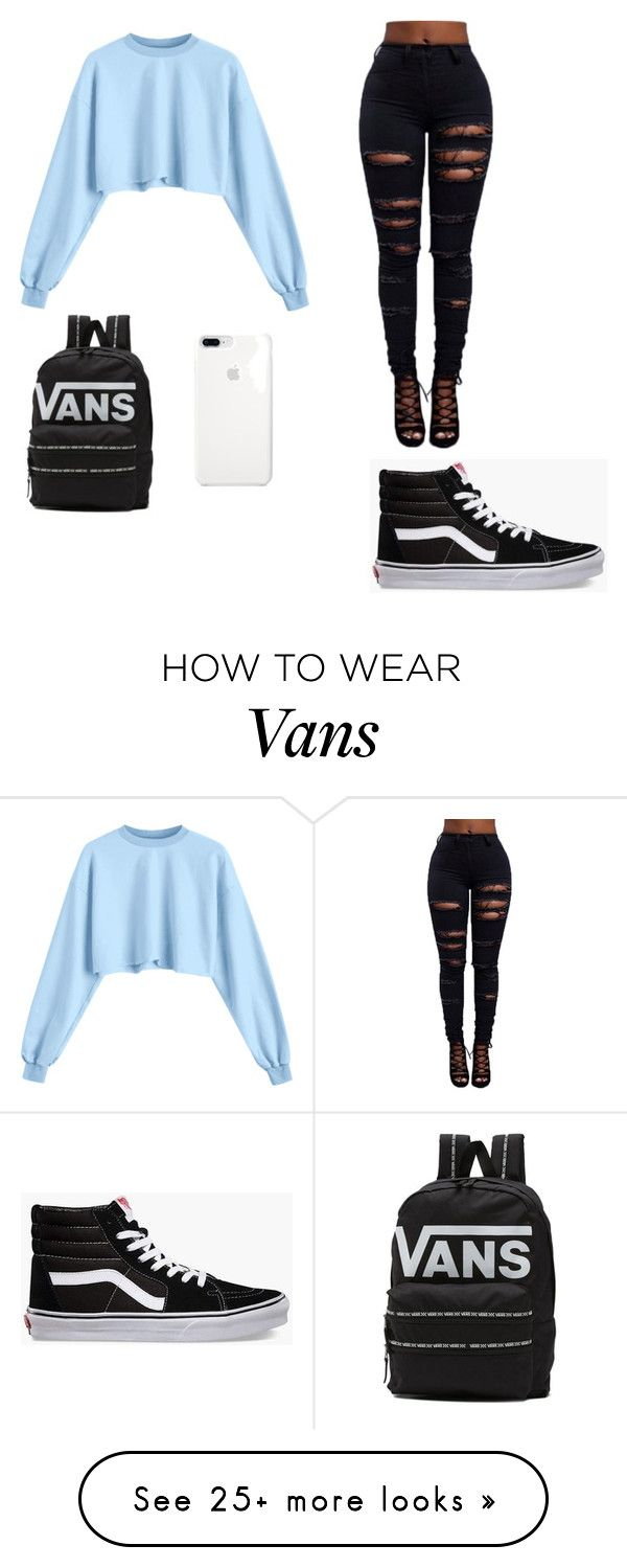 """look #1"" by anobles069 on Polyvore featuring Vans"