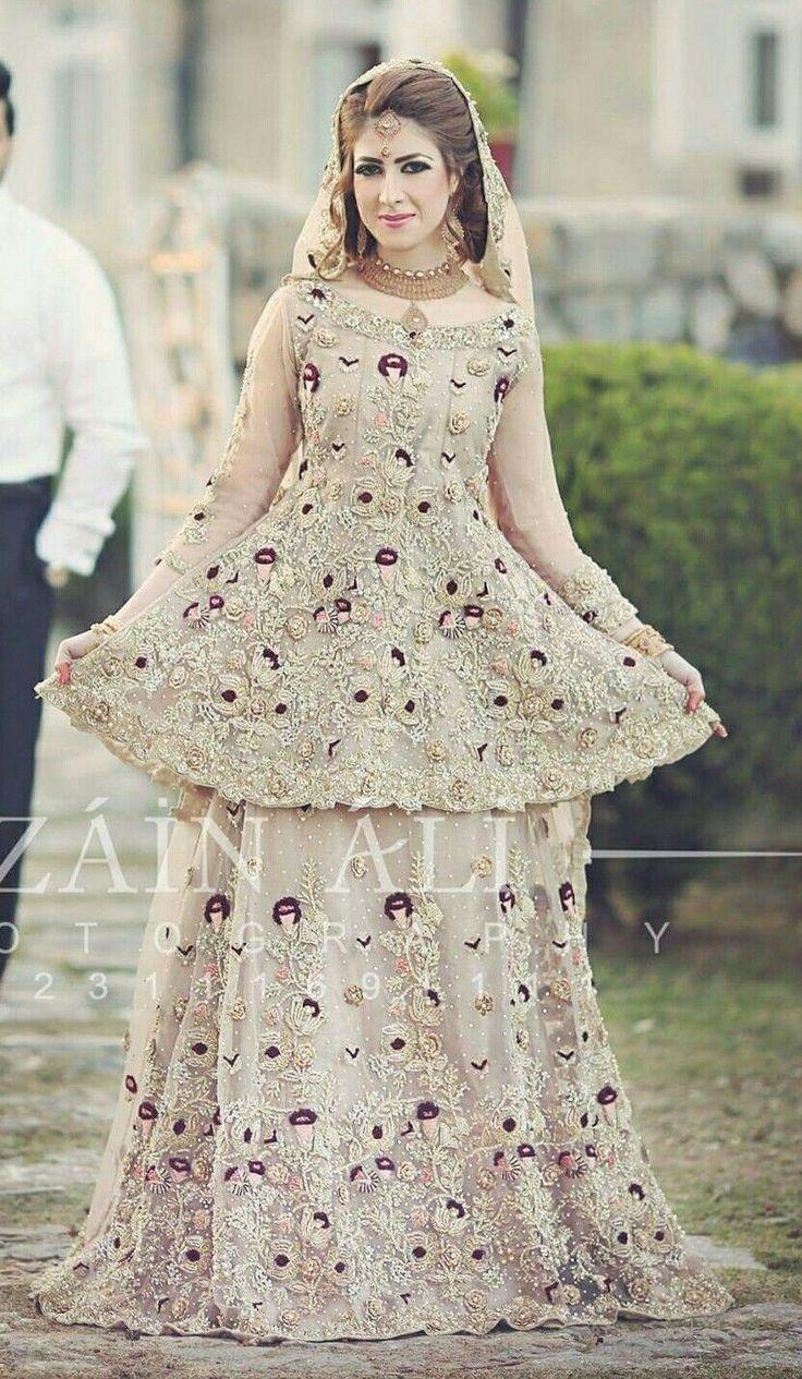 1511 best Wedding bells images on Pinterest | Pakistani bridal wear ...