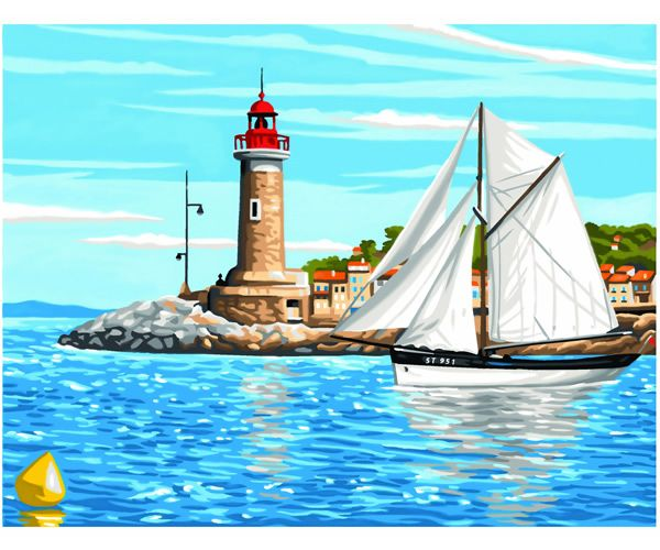Painting By Numbers - Outward Bound - PBN1106 | Hobbies The Masterpiece Senior range of painting by numbers are for the more experienced artist. Contents: Pre-printed board, acrylic paints, brush and instruction sheet.