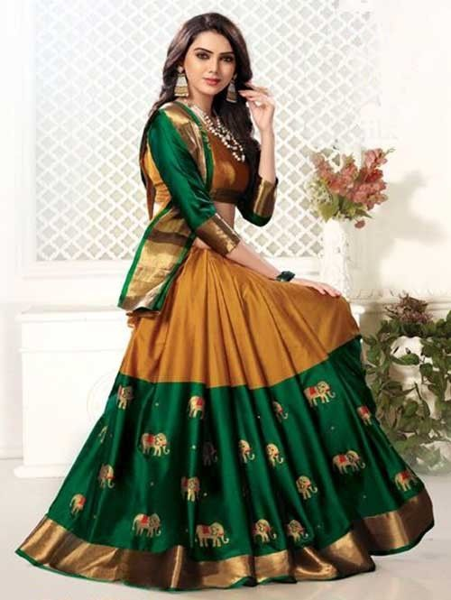 99200e01b2 Beautiful Cotton Silk Branded Saree - 8 Colors | Visit Now :  www.grabandpack.com.|Free shipping only in India.| Contact us/whats app us  on : +91 9898133588 ...