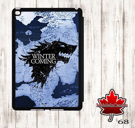 iPad cover Case stand smart leather flip ipad 2 3 4 air 1 2 3 mini 1 2 3 4 Game Of Throne got by MobileInCanada on Etsy