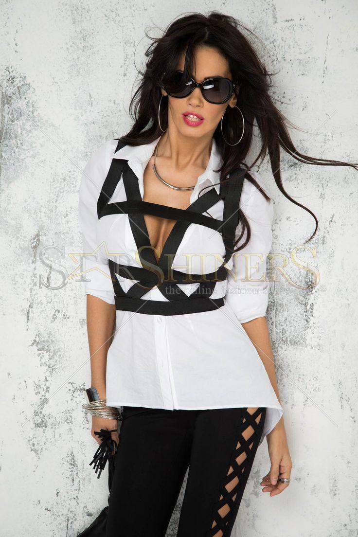 Mexton Flexible Choice White Shirt