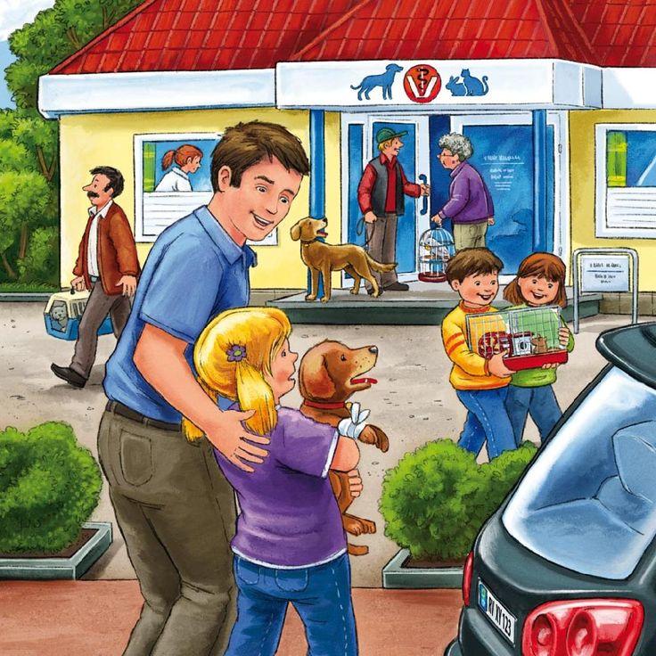Praatplaat dierenwinkel
