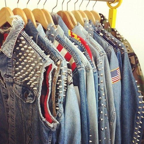 Шипы на плечи (подборка) / Креатив / Модный сайт о стильной переделке одежды и интерьера