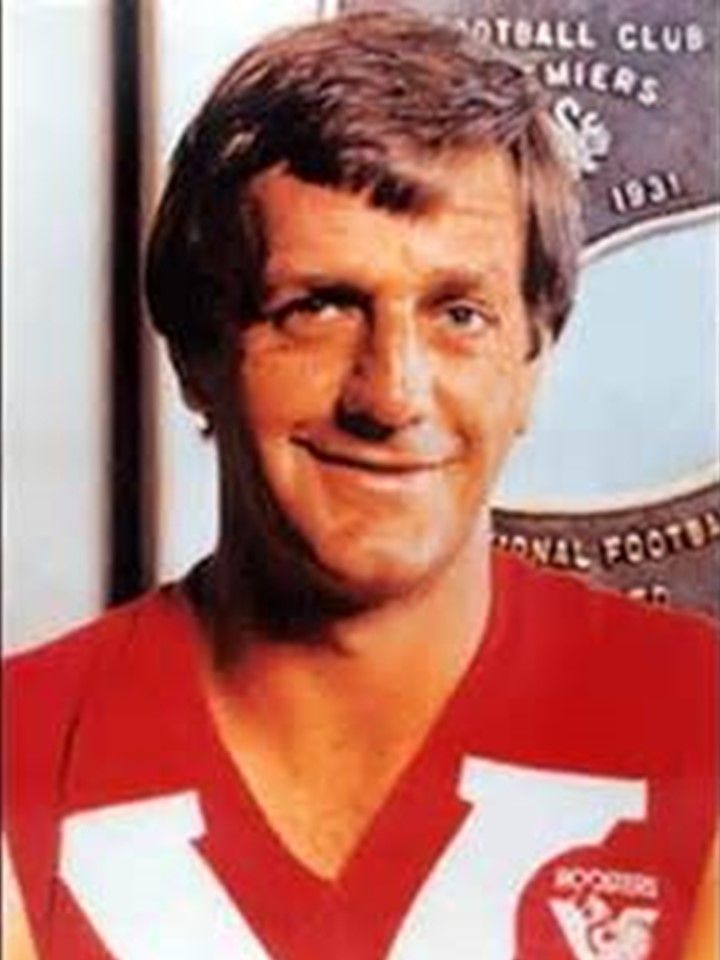 Legend - Barrie Robran (North Adelaide). Games 201. Regarded as the best player never to play AFL, Robran was a star in South Australia.