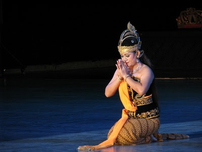 Javanese traditional dance ... shinta