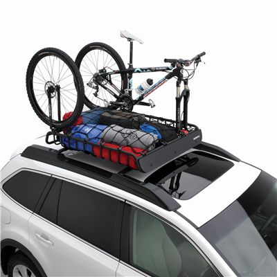 We make your active lifestyle easy with this roof mounted bike rack and cargo carrier!
