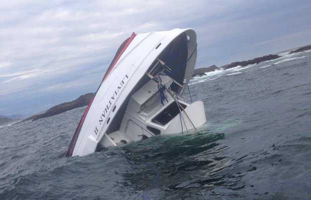 Five British tourists dead, one person missing after whale watching vessel capsizes near Tofino