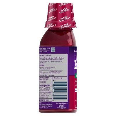 ZzzQuil Nighttime Sleep-Aid Liquid - Cherry - 12 fl oz