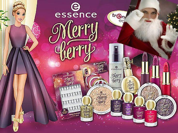 Essence Merry Berry Make up Christmas Make up Natale