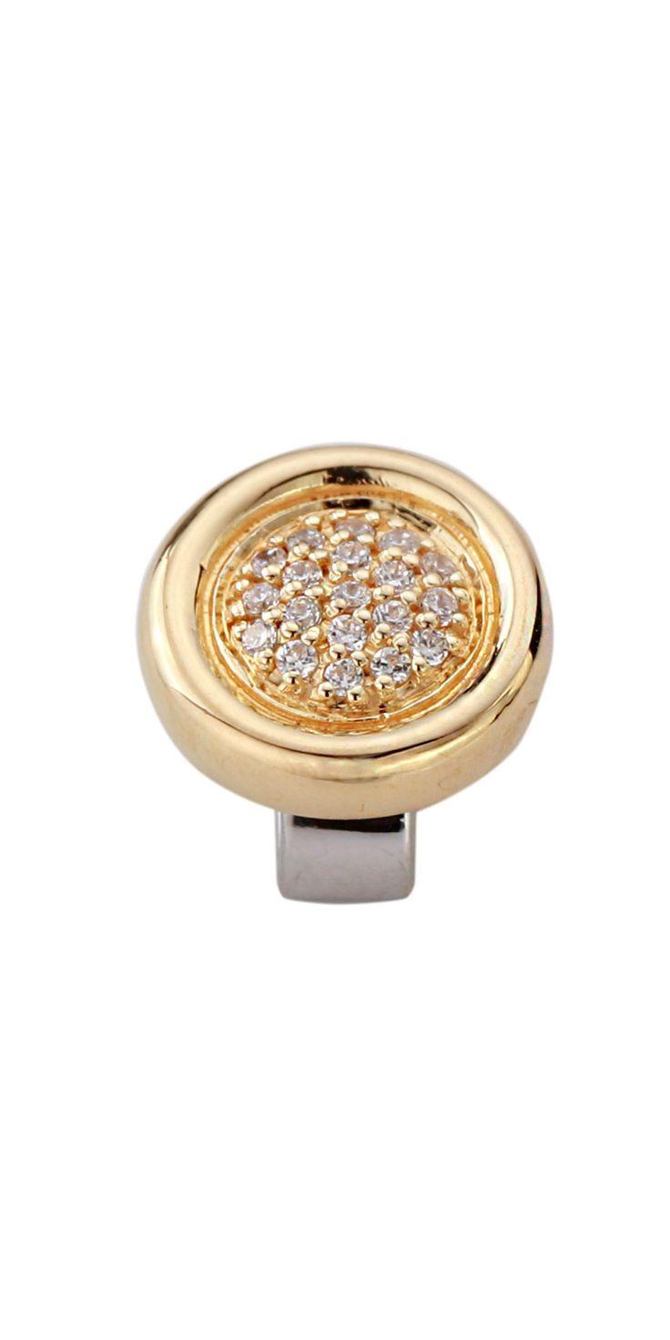 Joy de la Luz | Bling Button goldplated
