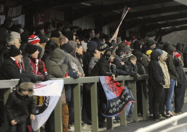 A war of words has erupted between two of the biggest clubs in the Northern Premier League.
