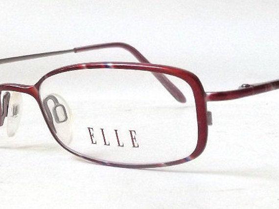 vintage 1990's elle eyeglasses prescription by RecycleBuyVintage