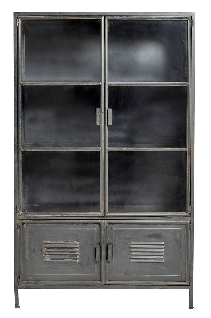 Vitrine Vintage Metal Nordic Factory File Dans Ta Chambre Vitrine Vintage File Dans Ta Chambre Chambre