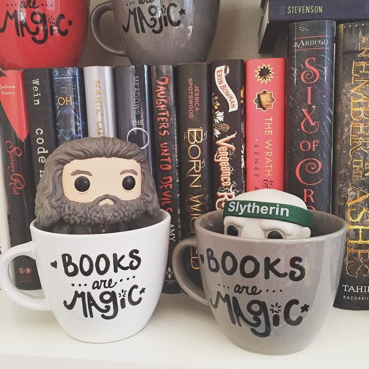 Hagrid tried to convince Voldie that mugs were cozy. Not quite the same huh?  These mugs are in stock mint mugs back tomorrow!  by riddlesteashoppe