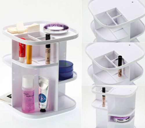 360Degree-Rotating-Cosmetic-Organizer-Makeup-Box-Case-Holder-Spinning-Rack-Shelf