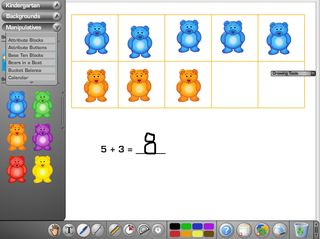 Virtual Manipulatives McGraw Hill--VIRTUAL MANIPS for SMART--Scale for balancing equations, unifix cubes, base 10 blocks and lots more. Explore!
