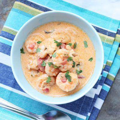 Easy and delicious low carb Brazilian Shrimp Moqueca recipe