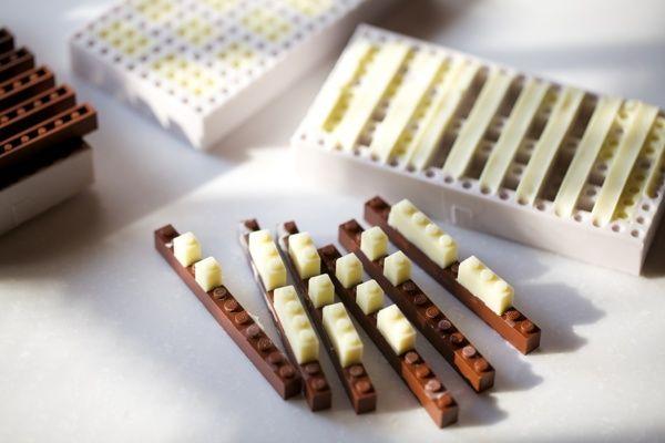 Chocolate Lego Characters Created by Akihiro... | Legosaurus