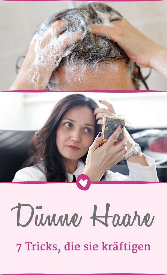 Dünne Haare Kräftigen So Geben Sie Feinem Haar Mehr Fülle Für Die