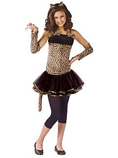 cool cat costumes for girls   Child Wild Cat Child   Cheap Cats Halloween Costume for Girls