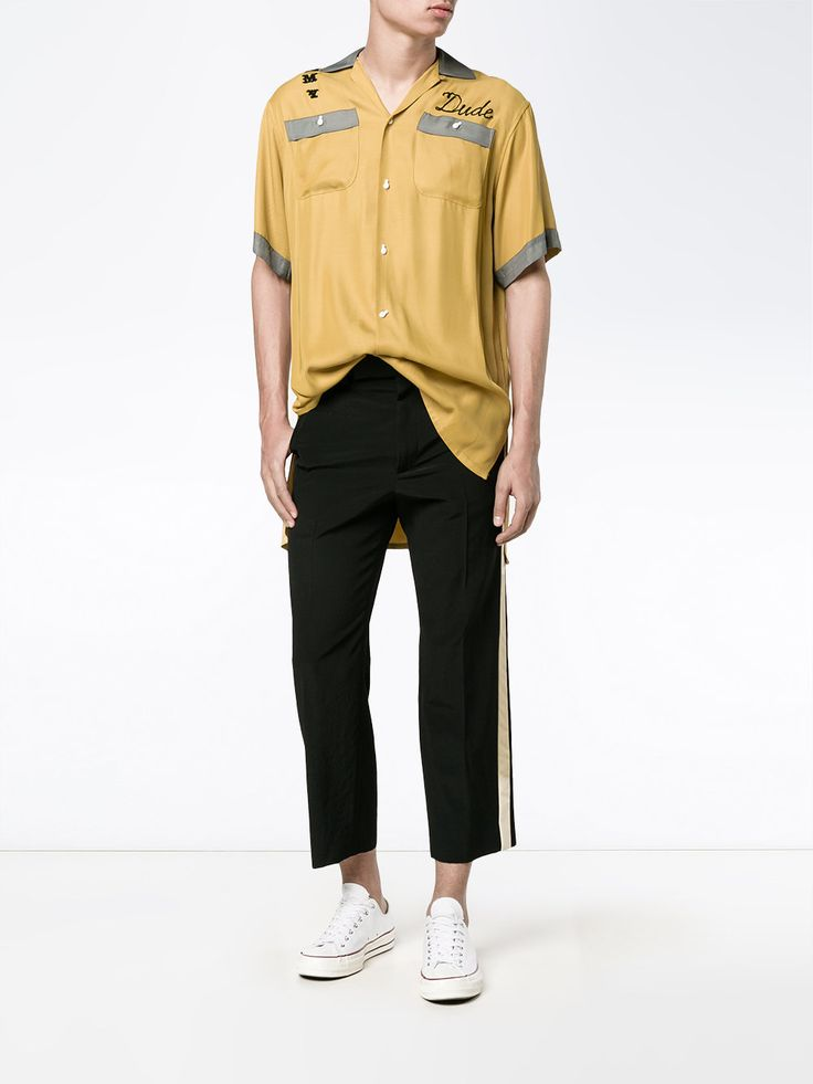 MAISON MIHARA YASUHIRO  chemise brodée  651 €