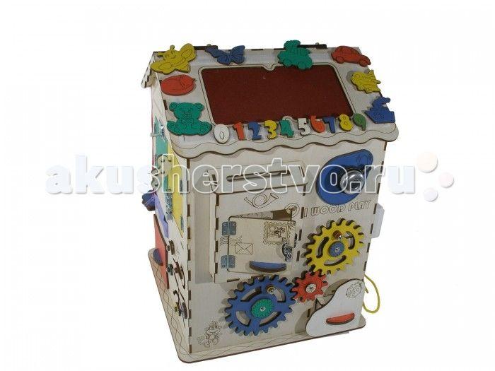 Деревянная игрушка Iwoodplay Развивающий домик с электрикой (блоком светоиндикации)  Деревянная игрушка Iwoodplay Развивающий домик с электрикой (блоком светоиндикации) igd-02-01 поможет малышу развить мелкую моторику, координацию движения, внимание, усидчивость, творческое и логическое мышление, помощь в освоении бытовой деятельности, что способствует развитию самостоятельности малыша.  Цветовое исполнение возможно в различных вариантах. Бизидом выполнен из качественных и безопасных для…
