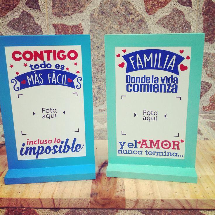 Hermosos portaretratos, ideales para decorar espacios de nuestros hogar, oficina, tiendas. Únicos y originales Talento local de popayán.