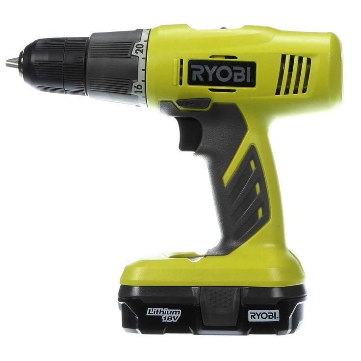 Ryobi Drill ONE  18-Volt Lithium-Ion Starter  Kit new #Ryobi