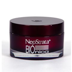 La Crema NeoStrata Biónica regenera la piel normal y seca gracias a su combinación de ácido lactobiónico, hialurónico y gluconolactona, que favorece la renovación epidérmica, la redensificación de la dermis y disminuye los radicales libres....