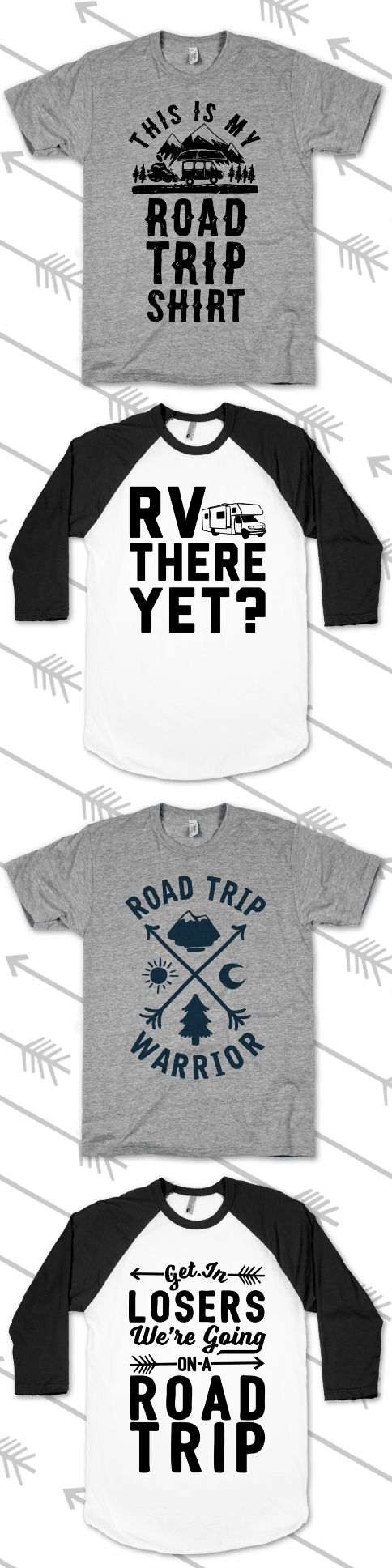 Make time for a road trip to drive off that winter wanderlust. Grab these shirts, pack the car, and head off on a long weekend trip!