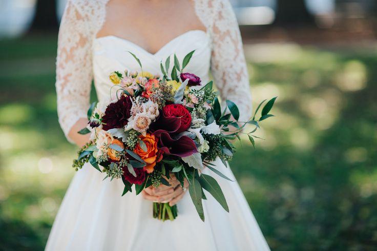 73 best English Garden-Wedding Bouquets images on Pinterest ...