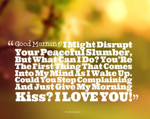8 Best Good Morning Love Quotes Images On Pinterest: Best 25+ Good Morning Love Ideas On Pinterest