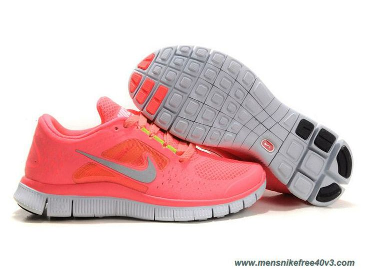 promo code 4ea20 eb26d ... top quality discounts womens 510643 600 nike free run 3 hot punch  reflective silver sol volt
