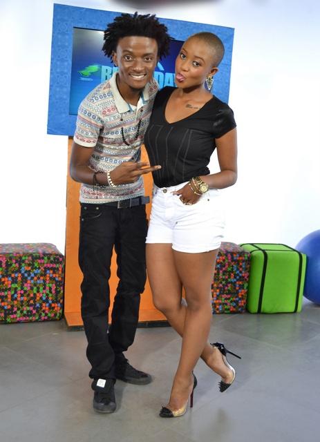 MTV Base VJs - Ehiz and Nomuzi