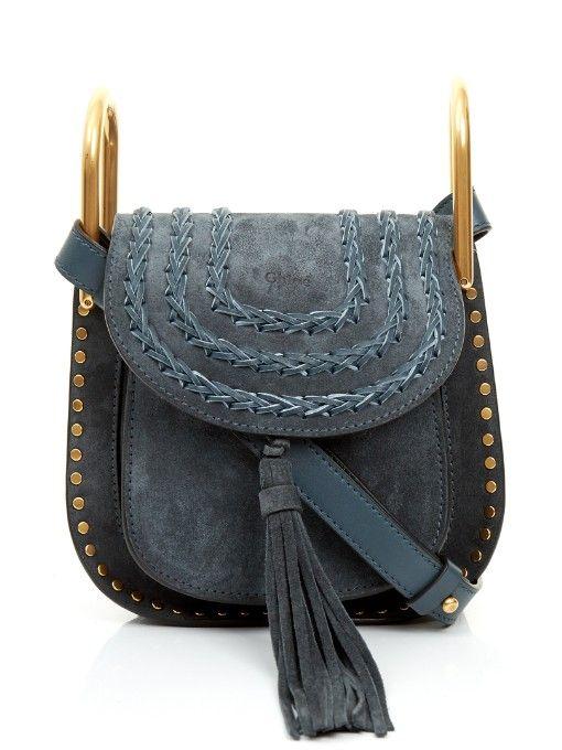 Chloé Hudson mini suede cross-body bag