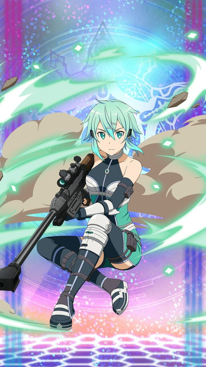 Sinon Sword Art Online Saison 3 Alternative Sword Art Online