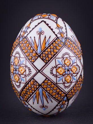 Easter eggs from Bukovina, Romania