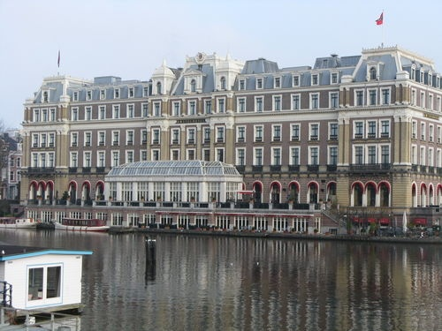 The Amstel Hotel. Definately the best High Tea in Amsterdam.
